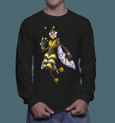 Japanese Bug Fighter Queen B Longsleeve