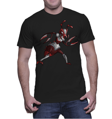 Japanese Bug Fighter Antman Tee-Shirt