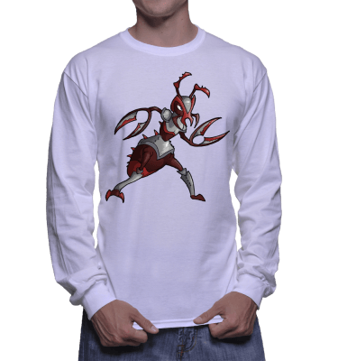 Japanese Bug Fighter Antman Longsleeve