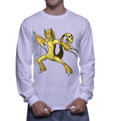Japanese Bug Fighter Scorpion Longsleeve