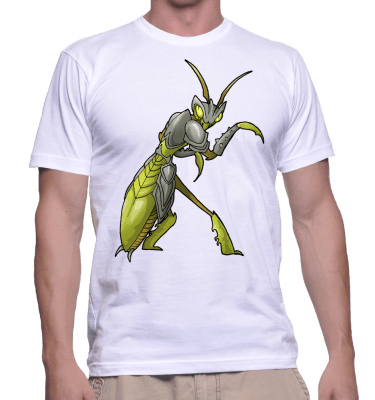 Japanese Bug Fighter Bruce Lee Tee-Shirt