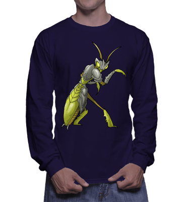Japanese Bug Fighter Bruce Lee Longsleeve