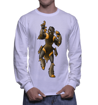 Japanese Bug Fighter Manny Pac Longsleeve