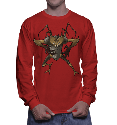 Japanese Bug Fighter Zyzz Longsleeve